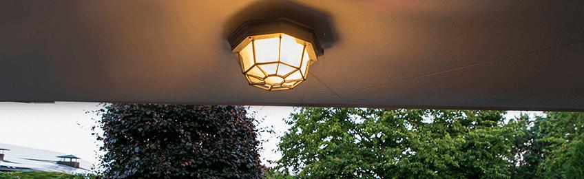 Venkovní stropní svítidlo