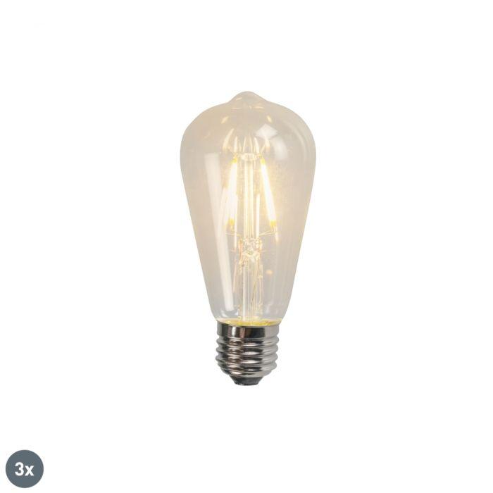 Sada-3-LED-žárovek-E27-ST64-4W-470LM-2700K