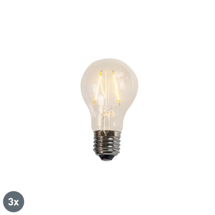 Sada-3-žárovek-LED-A60-2W-2200K-čiré