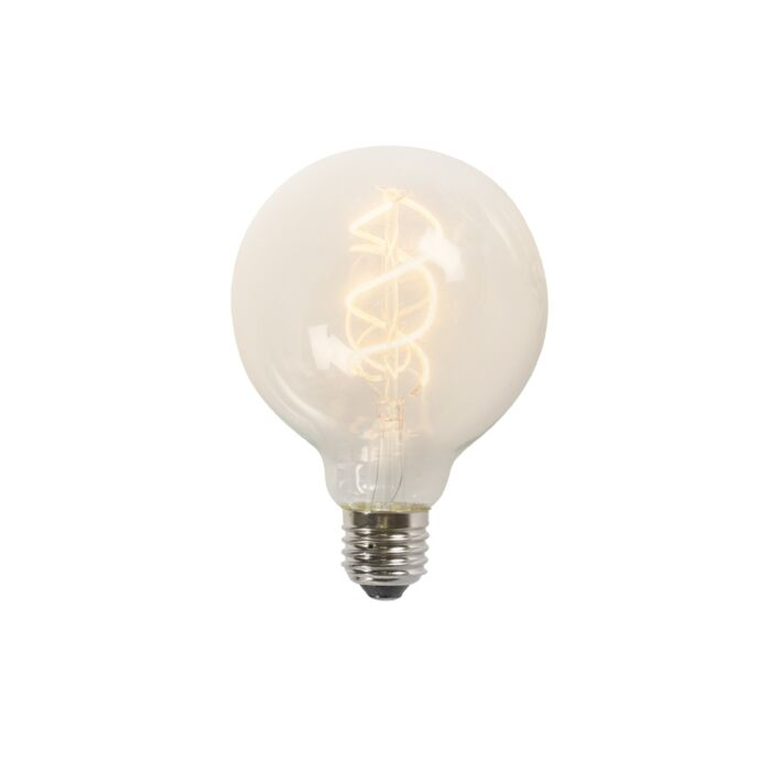 Twisted-filament-LED-lamp-G95-5W-2200K-clear