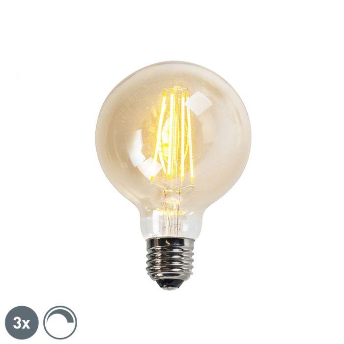 Sada-3-stmívatelných-LED-žárovek-E27-goldline-G95-5W-450LM-2200K