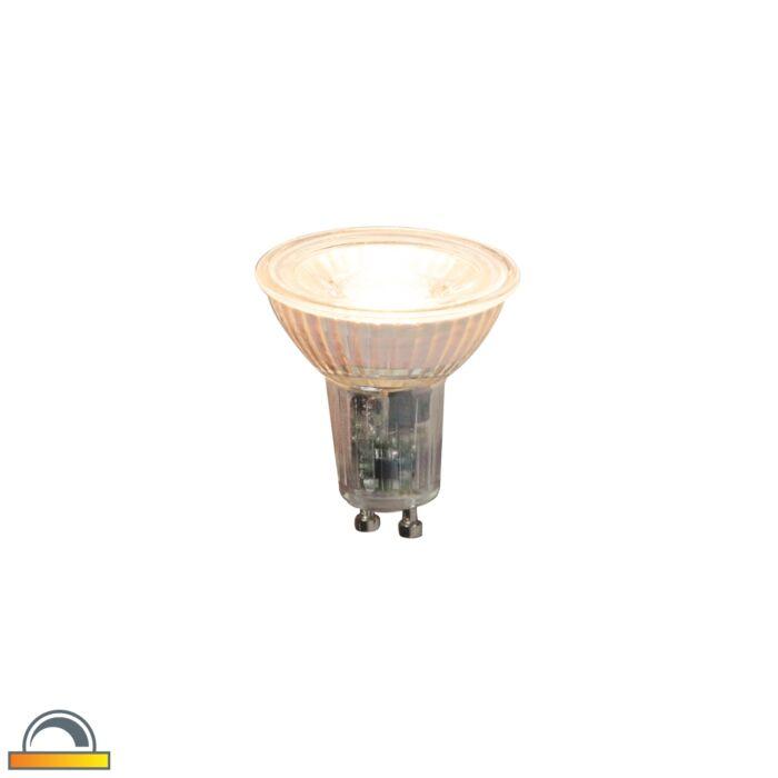 GU10-stmívatelná-LED-lampa-5,5-W-360-lm-2000-K---2700-K.
