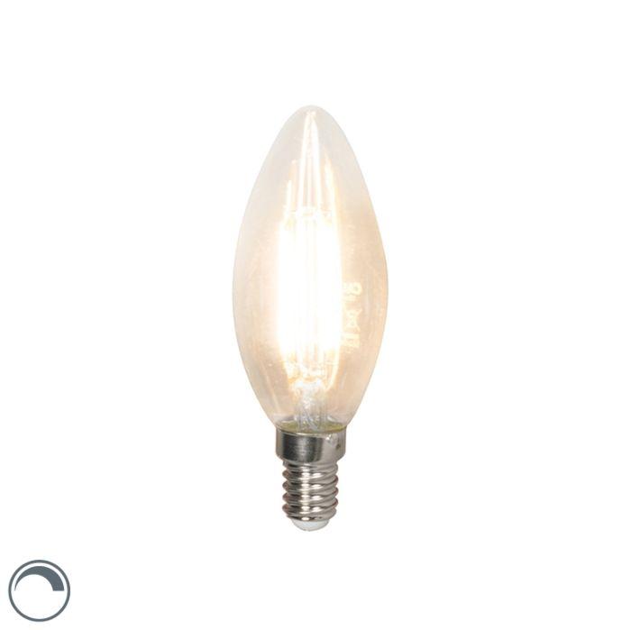 LED-žárovka-s-vlákny-E14-240V-3,5W-350lm-B35-stmívatelná
