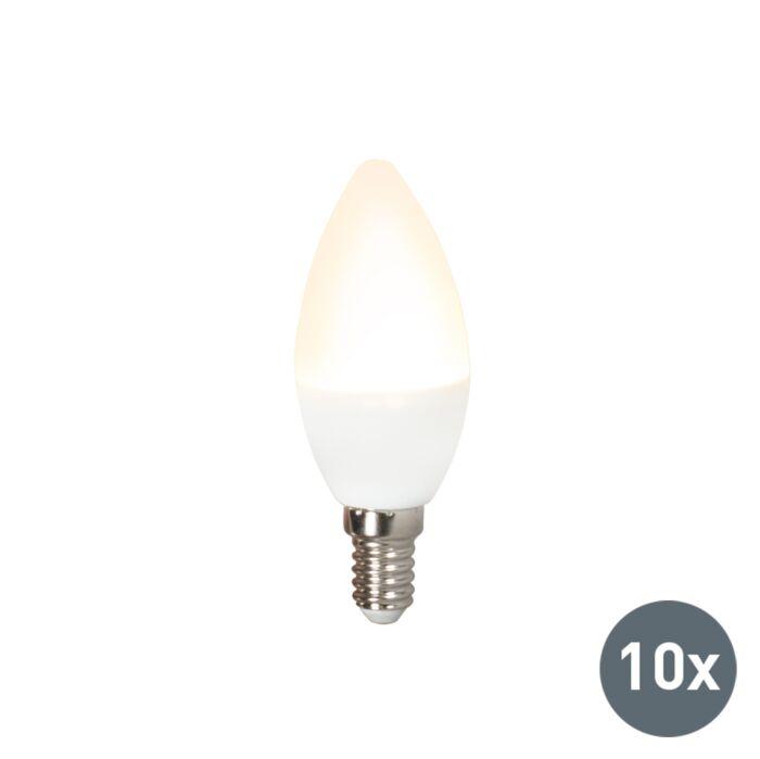 Sada-10-LED-žárovek-C37-E14-3W-3000K
