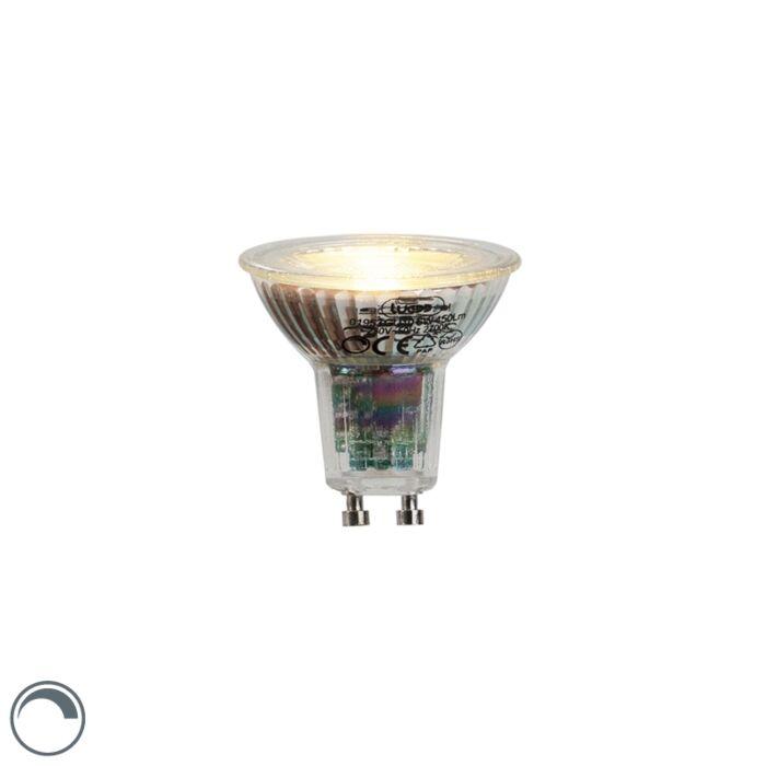 LED-žárovka-GU10-6W,-450-lumenů,-2700K-stmívatelná