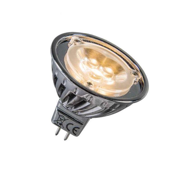 Výkonová-LED-12V-MR16-3-x-1W-=-přibližně-30W-teplá-bílá