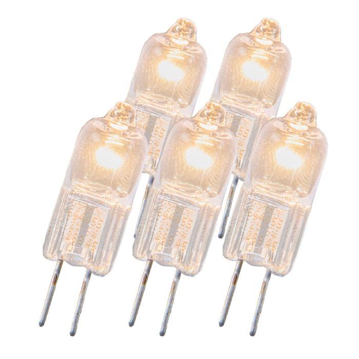 Halogenová-žárovka-G4-20W-12V-sada-5
