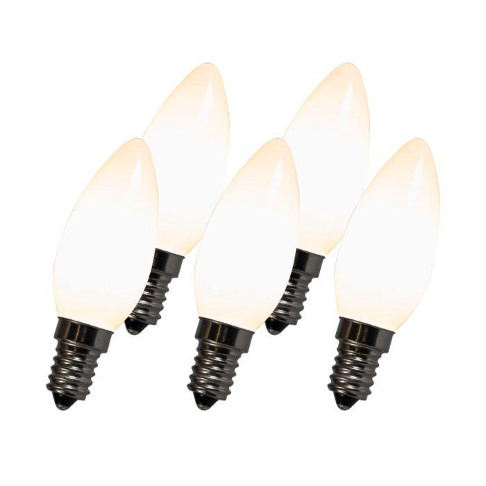 Filament-LED-lampa-C35-E14-2W-2700K-bílá-sada-5