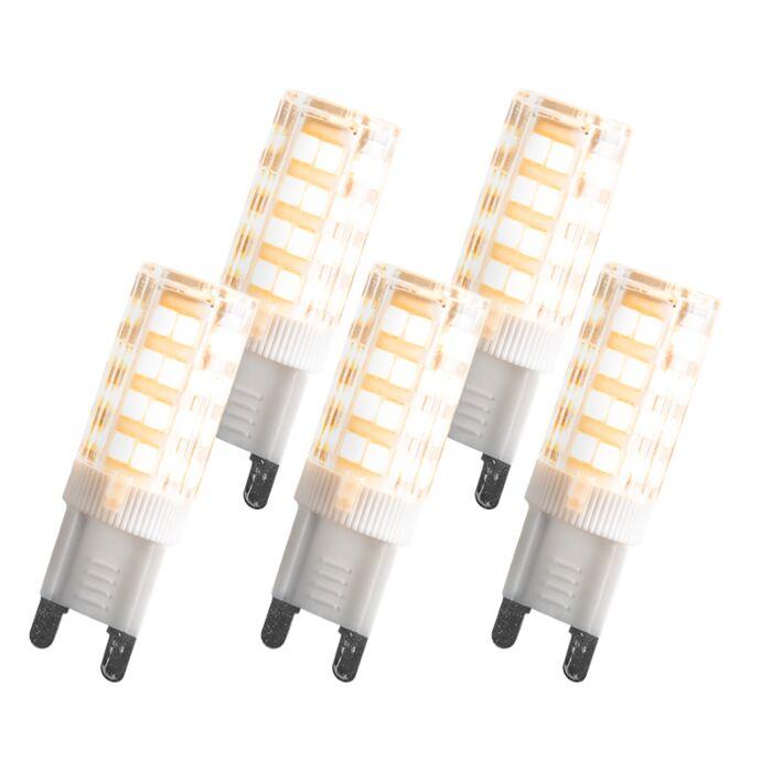 Sada-G9-LED-3,3-W,-280-lumenů,-5-kusů