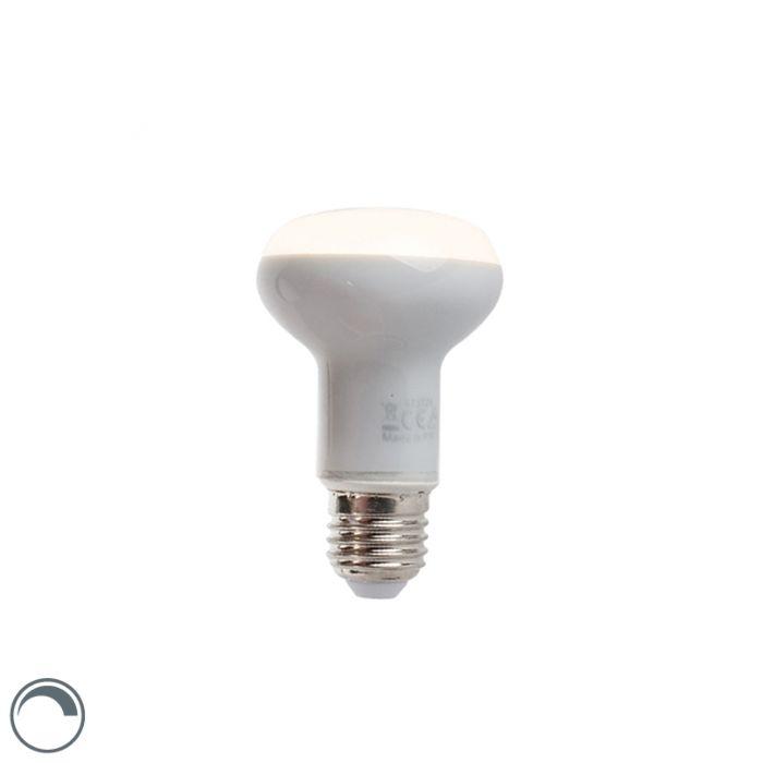 Stmívatelná-LED-reflektorová-lampa-E27-5W-370-lumen-teplá-bílá-2900K-R63
