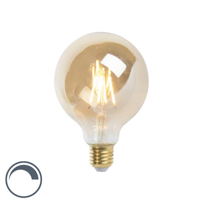 LED-E27-stmívatelná-žárovka-G95-goldline-360lm-2200K