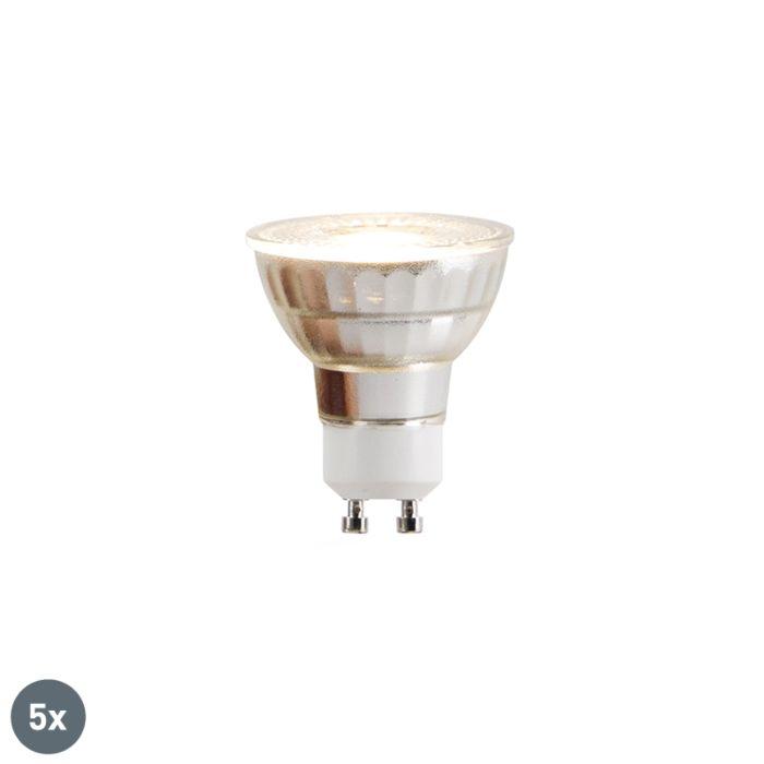 Sada-5-LED-žárovek-GU10-COB-5W-380lm-2700K