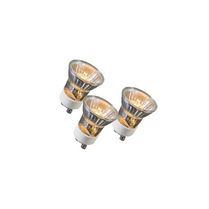 Sada-3-halogenových-žárovek-GU10-35W-230V-35mm