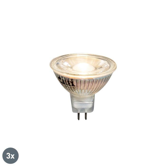Sada-3-LED-žárovek-3W-230-lumenů