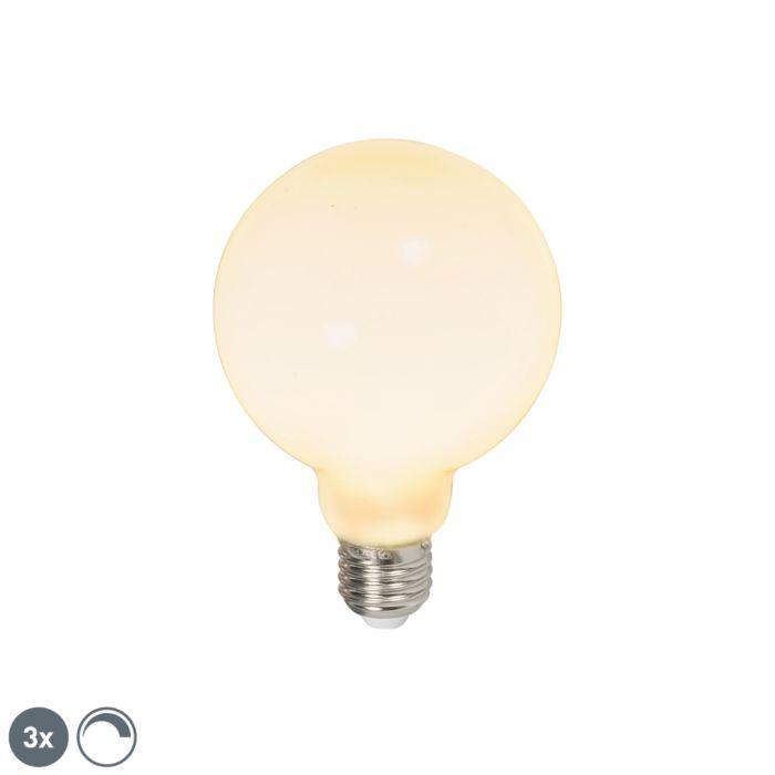 Sada-3-LED-žárovek-E27-240V-6W-650lm-stmívatelných