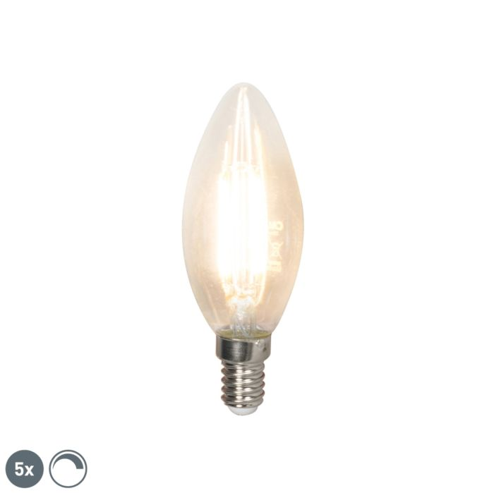 Sada-5-E14-stmívatelných-LED-žárovek-350-lm-2700K