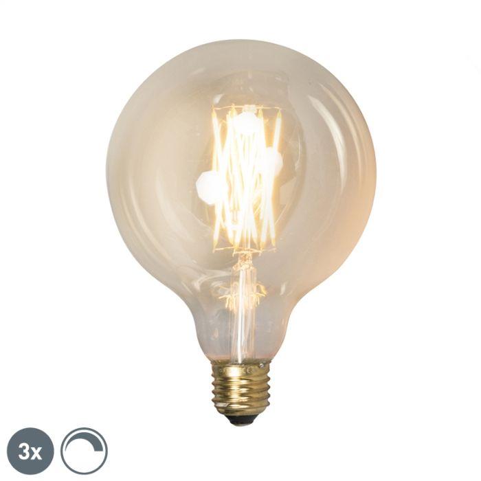 Sada-3-stmívatelných-LED-žárovek-E27-G125-goldline-320lm-2100-K.