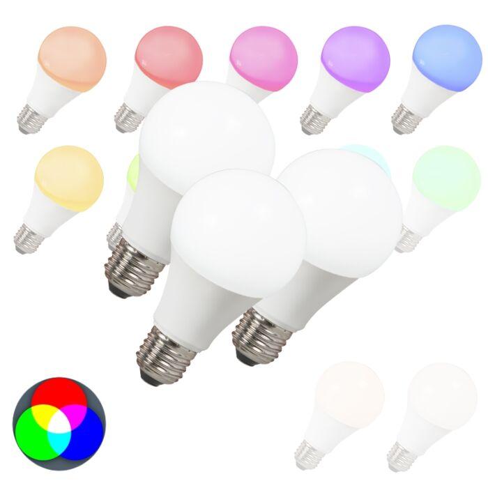 Sada-3-LED-žárovek-E27-240V-7W-500lm-A60-Smart-Light