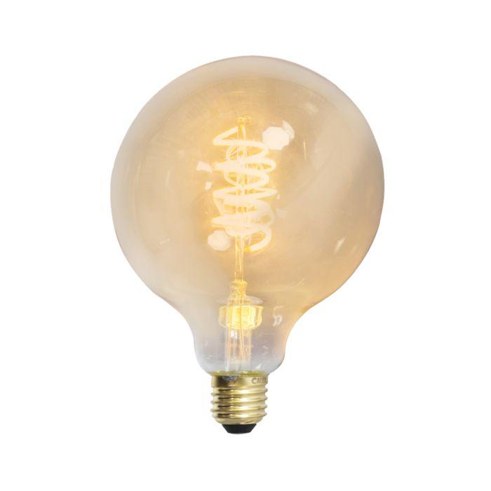 LED-kroucená-žárovka-s-kulatým-vláknem-E27-240V-4W-200lm-stmívatelné