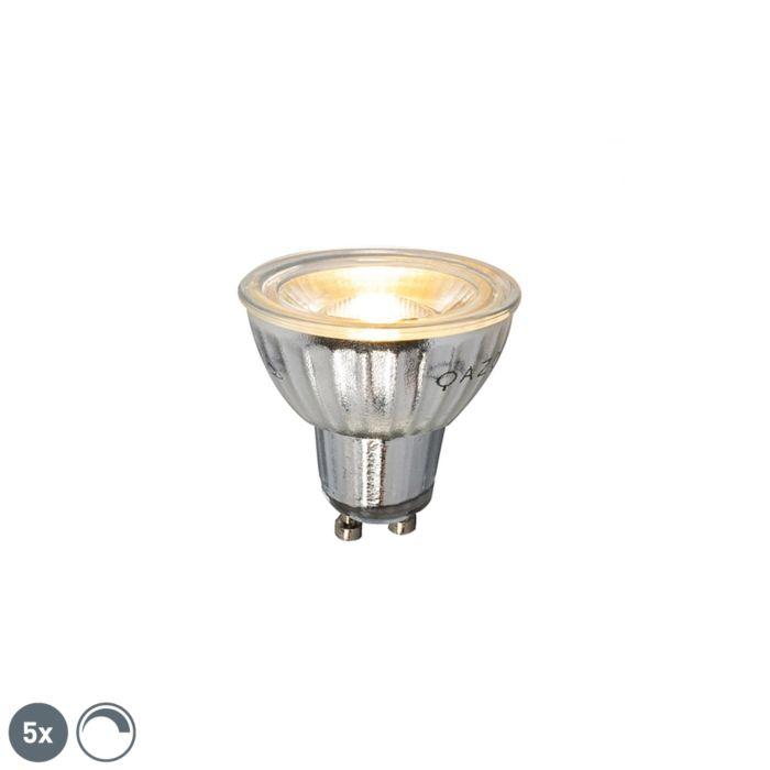 Sada-5-stmívatelných-LED-žárovek-GU10-7W-500LM-2700K