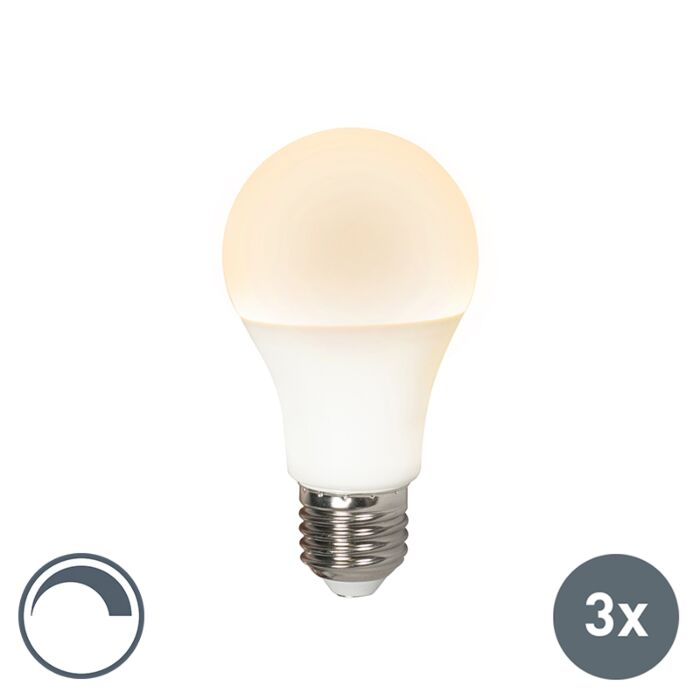 Sada-3-LED-žárovek-E27-240V-10W-810lm-A60-stmívatelných