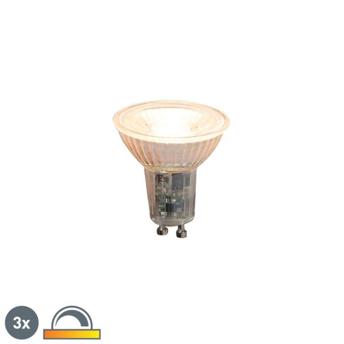 Sada-3-stmívatelných-LED-světel-GU10-5,5-W-360-lm-2000-K---2700-K.