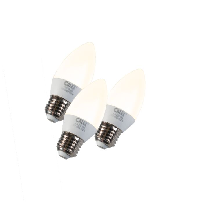 Sada-3-svíček-LED-E27-5W-240V-2700K-stmívatelných