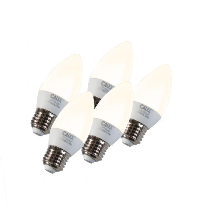 Sada-5-žárovek-na-svíčky-LED-E27-5W-240V-2700K-stmívatelných
