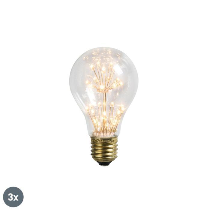 Sada-3-LED-žárovek-E27-1,5-W-/-136LM
