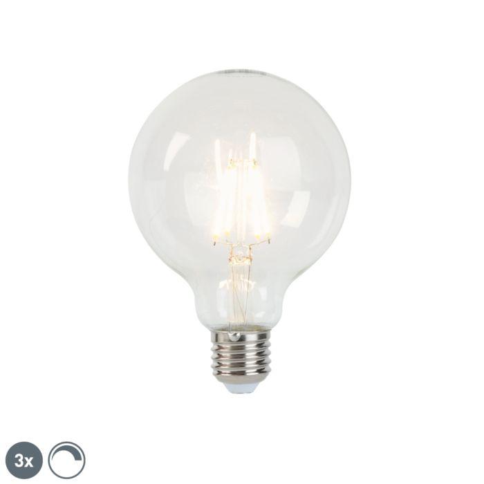 Sada-3-E27-stmívatelných-LED-žárovek-G95-5W-450lm-2700K