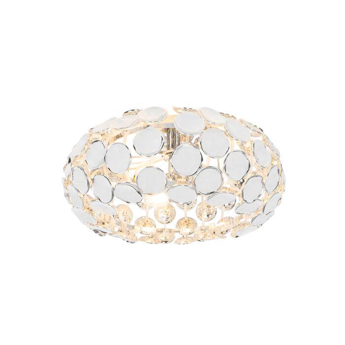Designové-stropní-svítidlo-chrom---Reza