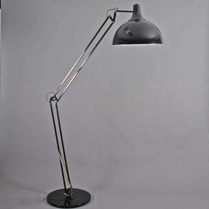 Oblouková-lampa-Hobby-XXL-černá