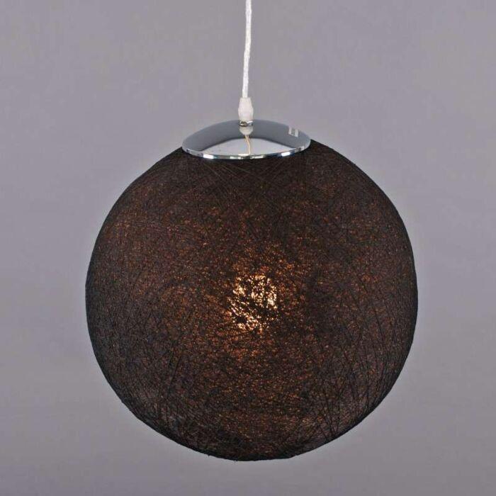 Závěsná-lampa-Hemp-35-černá