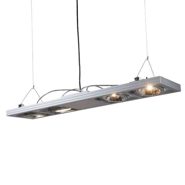 Závěsná-lampa-Kardan-4-dlouhé-hliníkové