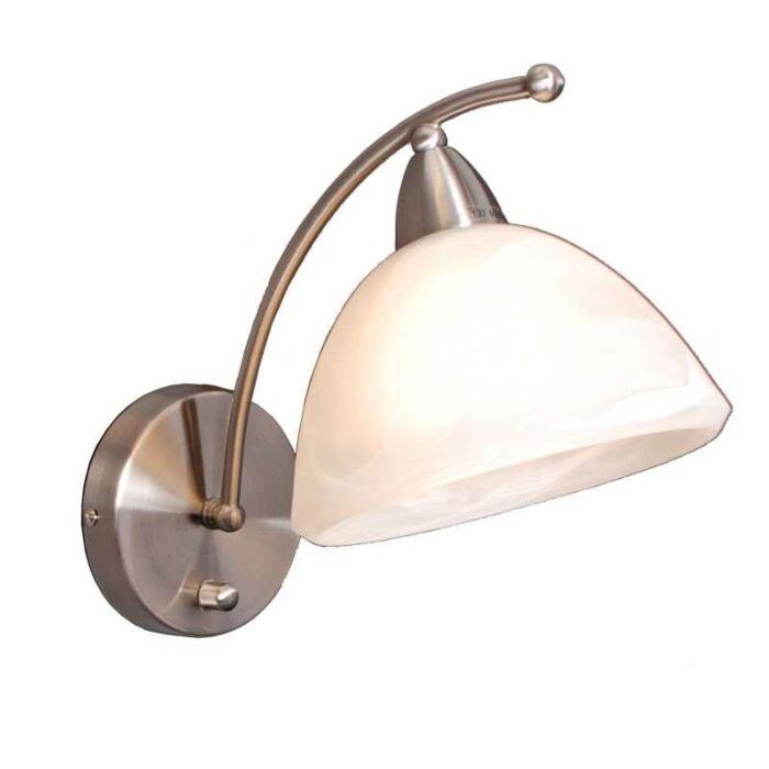 Nástěnná-lampa-Firenze-ocel