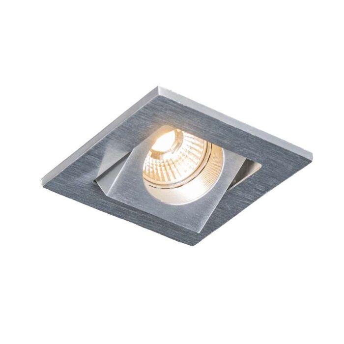 Zapuštěné-bodové-Quale-hranaté-hliníkové-LED