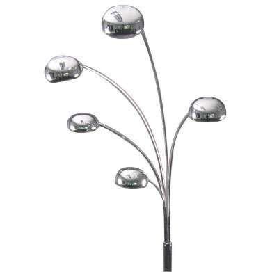 Oblouková-lampa-sedmdesátých-let-chrom