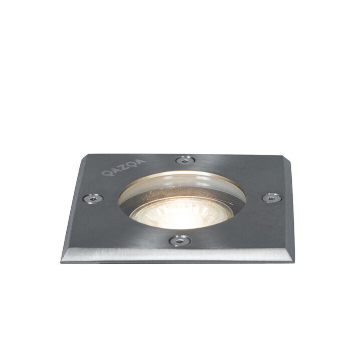 Broušená-bodová-ocel-10,5-cm-IP65---Basic-Square