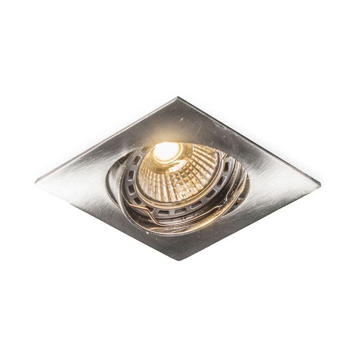 Vyklápěcí-čtvercová-ocel-s-LED-zapuštěným-bodem-Edu