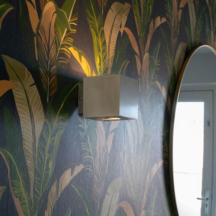 Moderní-nástěnná-lampa-z-hliníku---efekt
