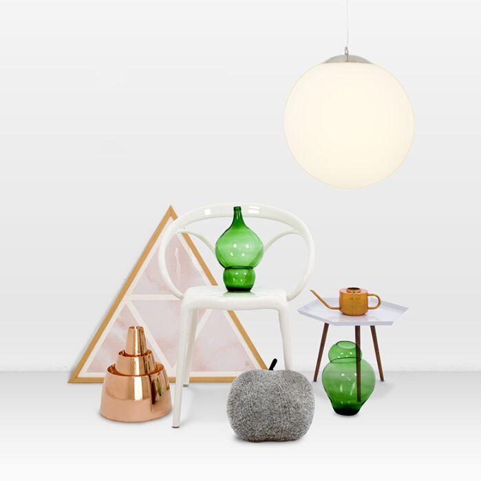 Moderní-závěsná-lampa-sklo-40cm---koule