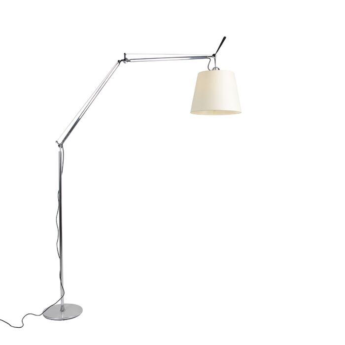 Stojací-lampa-hliníková-285-cm---Artemide-Tolomeo-Mega-Terra