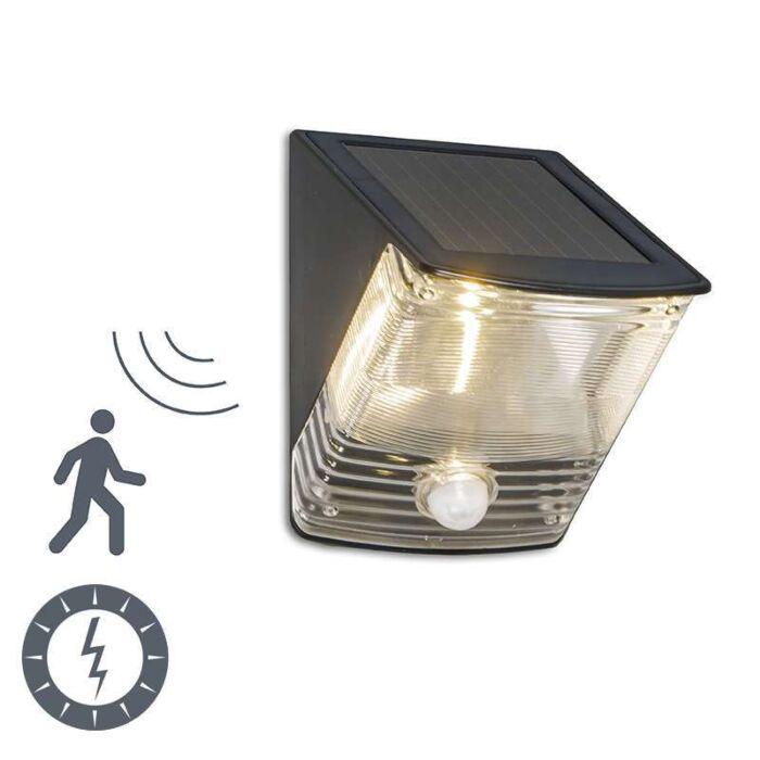 Venkovní-lampa-Dark-LED-se-solárním-detektorem-pohybu