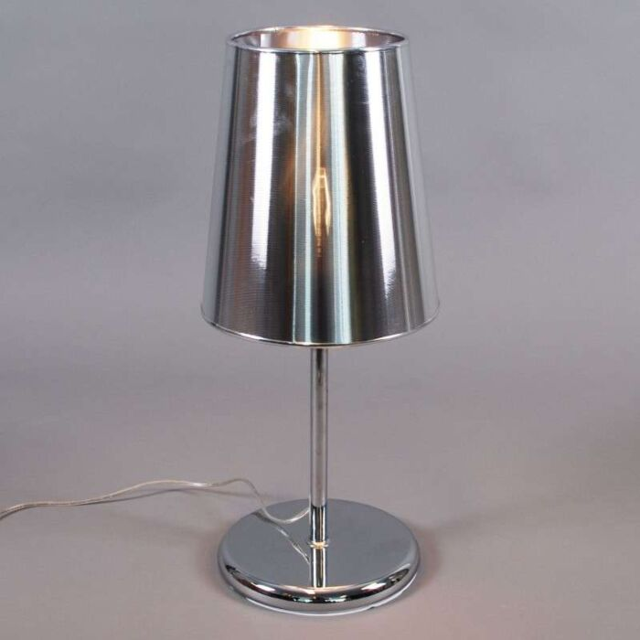 Stolní-lampa-Miracle-60-stříbrná