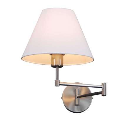 Nástěnná-lampa-Swing-steel-se-stínidlem