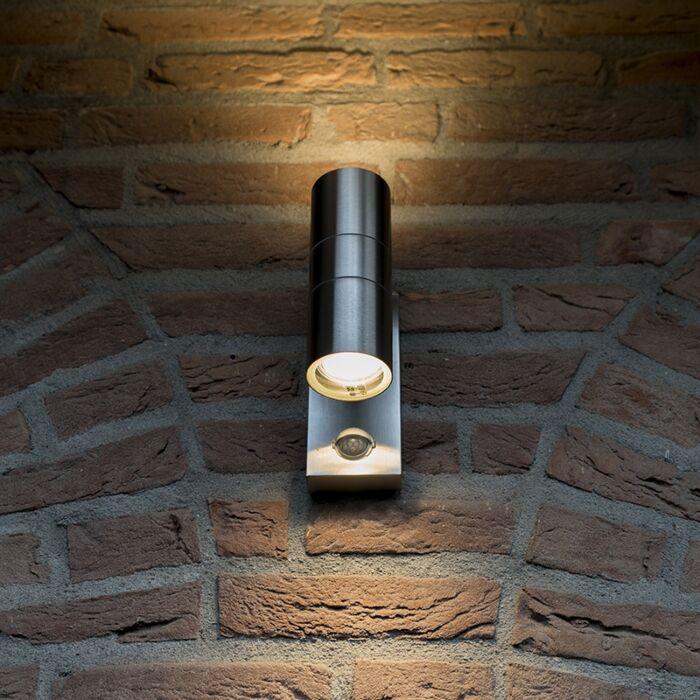 Venkovní-lampa-Duo-IR-ocel