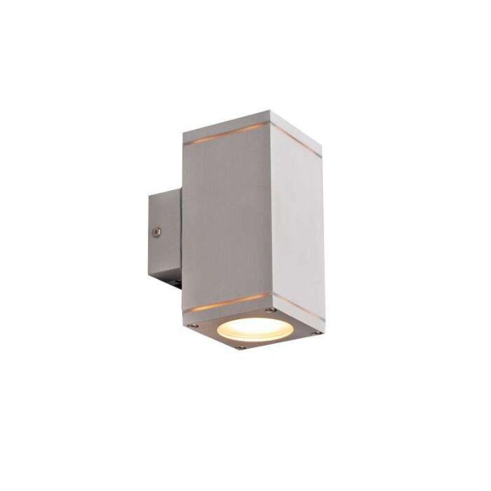 Venkovní-lampa-Quadro-up-down-hliník