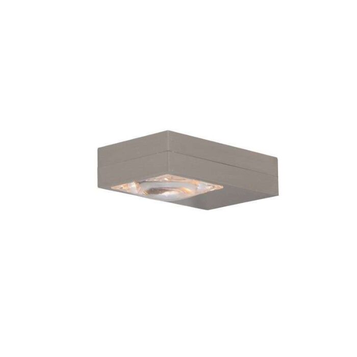 Nástěnná-lampa-Focus-ocel