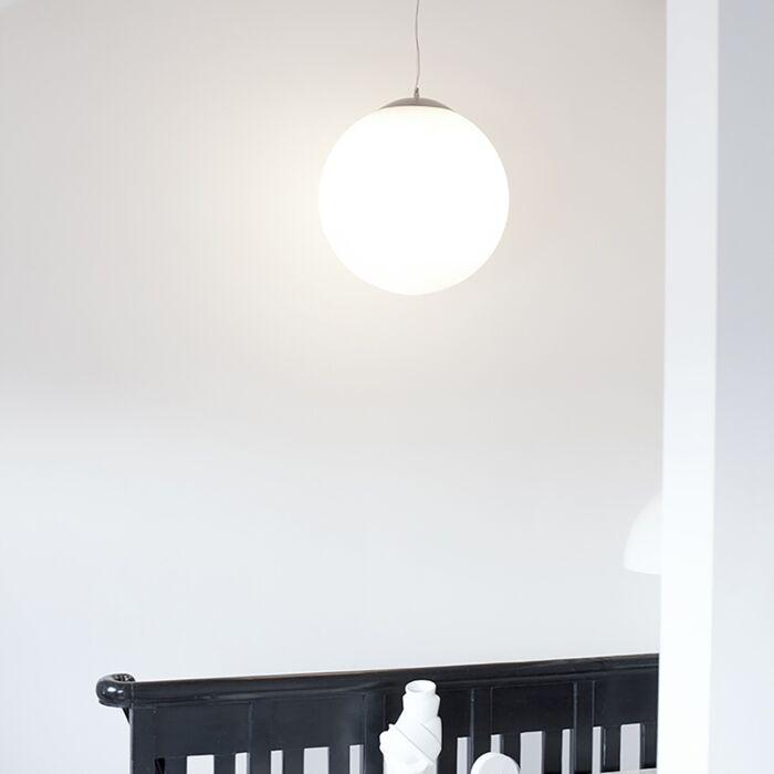 Skandinávská-závěsná-lampa-opálové-sklo-50cm---Ball-50