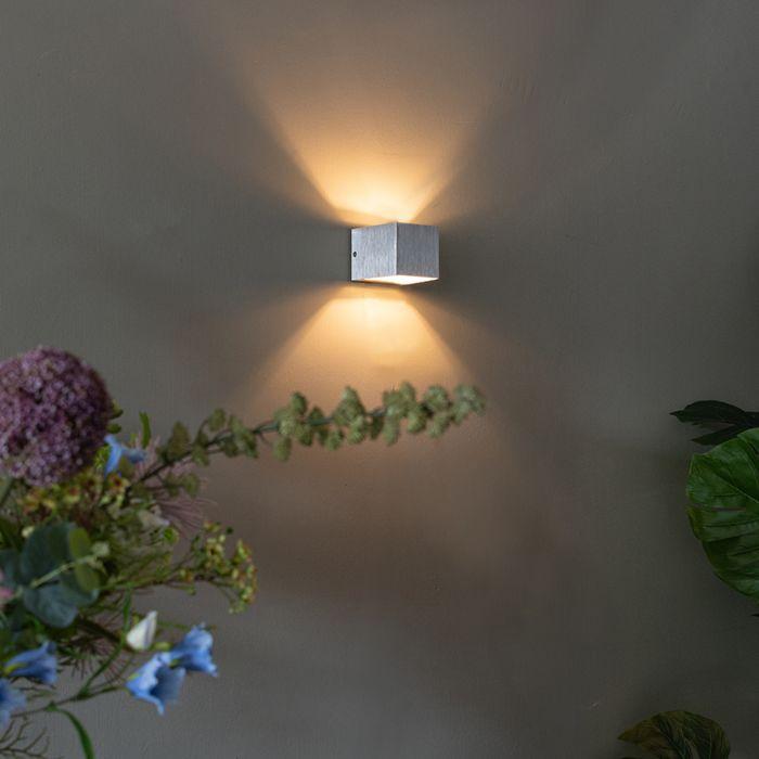 Moderní-nástěnná-lampa-hliníková---Transfer